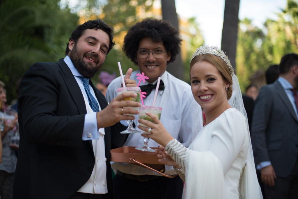 contratamos cocteleria en vivo - Boda Mª José y Alfredo
