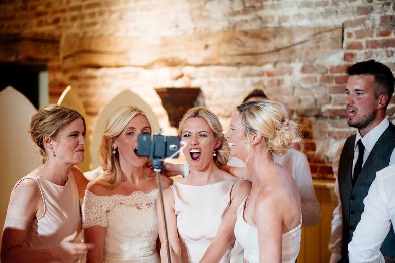 palo selfie en boda