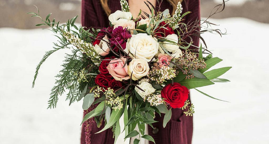 ramos de novia para invierno diario de una novia