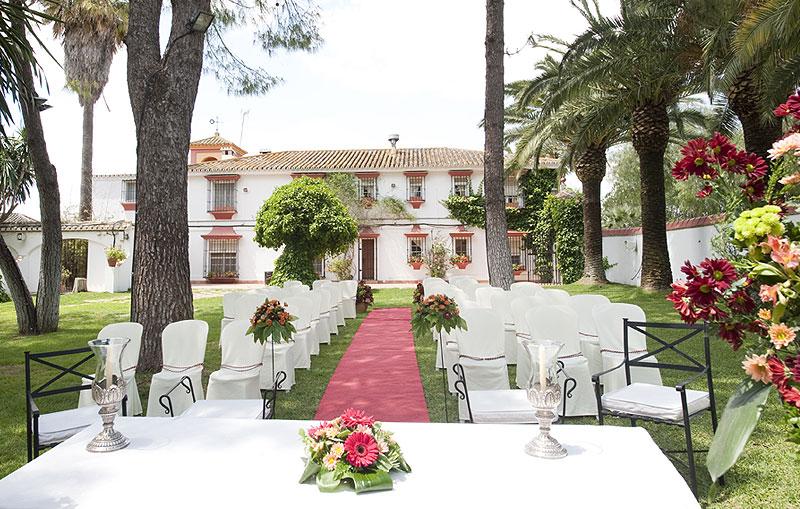 haciendas para bodas en Sevilla Hacienda el vizir cermonia