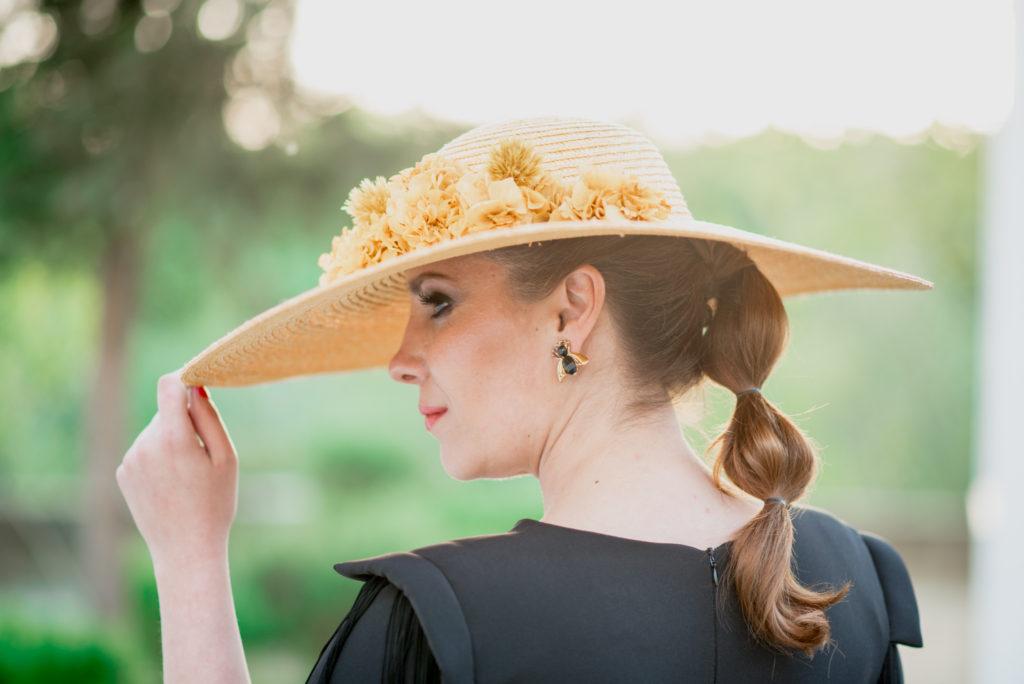 Margarita vestido negro 1013 - Novias e Invitadas de Inma Linares