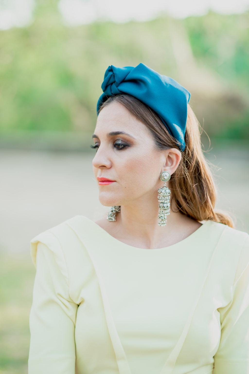 Trini vestido amarillo 1004 - Novias e Invitadas de Inma Linares