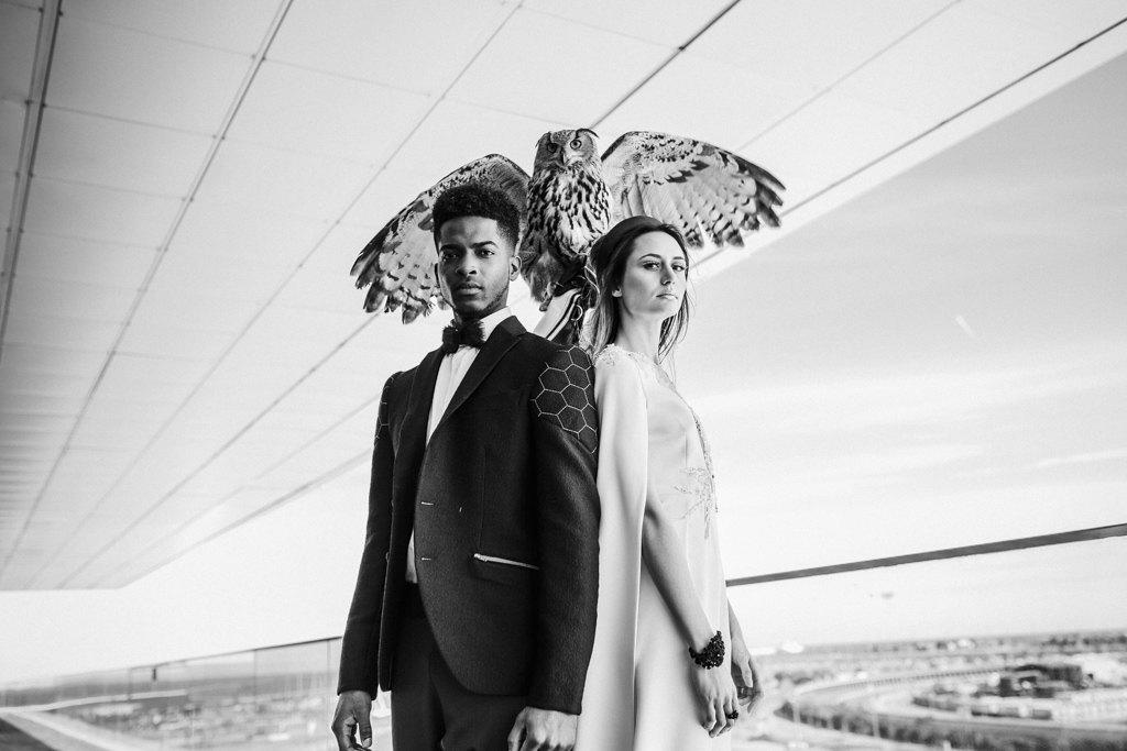 Inspiración boda futurista 10 - Editorial Futuro Efímero