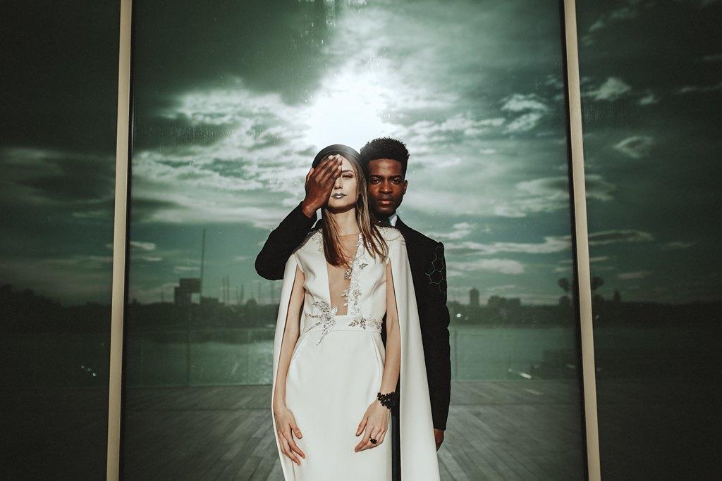 Inspiración boda futurista 18 - Editorial Futuro Efímero