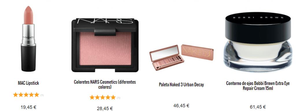 productos Lookfantastic maquillaje