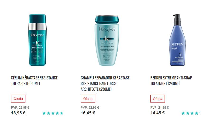 productos Lookfantastic pelo