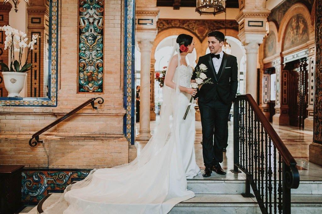 Irish wedding Hotel Alfonso 13 Seville 16 - La Boda Irlandésa de Ciara y Ciaran en Hotel Alfonso XIII