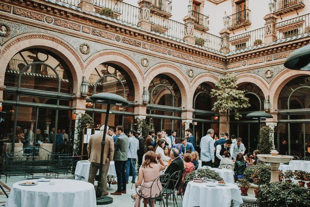 Irish wedding Hotel Alfonso 13 Seville 33 - La Boda Irlandésa de Ciara y Ciaran en Hotel Alfonso XIII