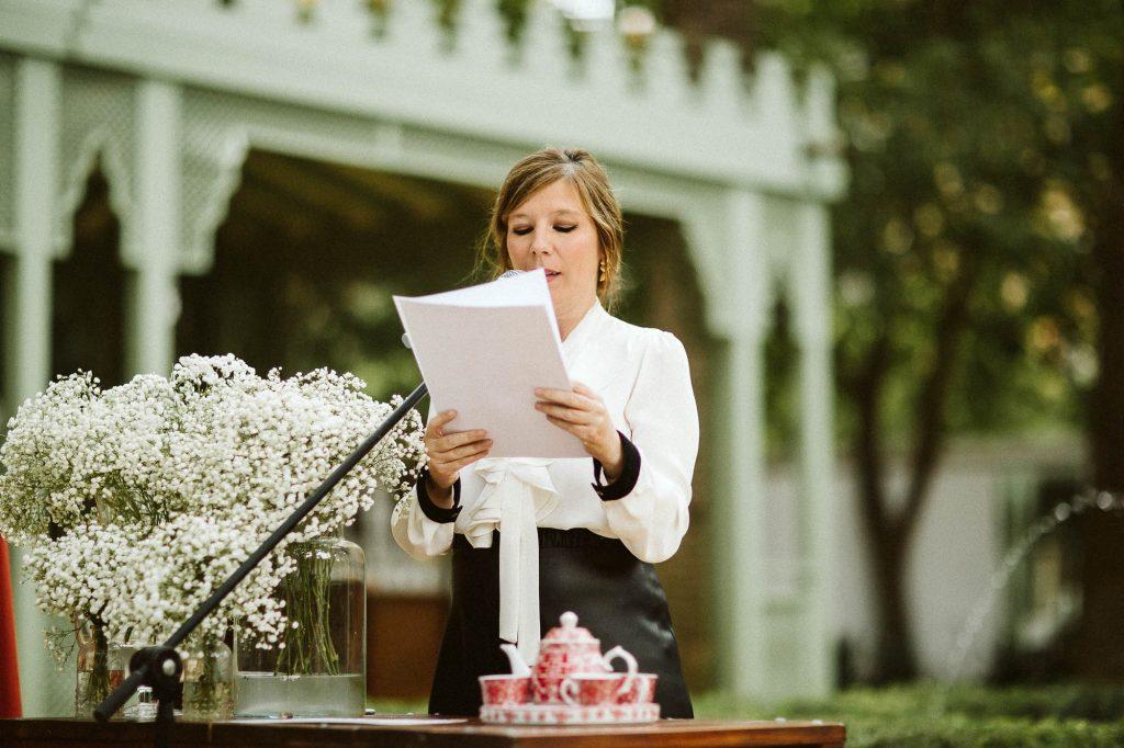 Guión para una boda civil Diana Lacroix