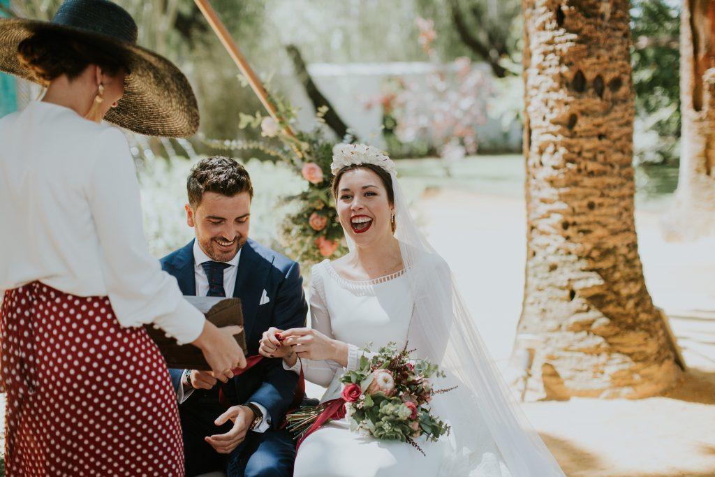 CEREMONIA137de270 - The Romantic Wedding of María and Javier