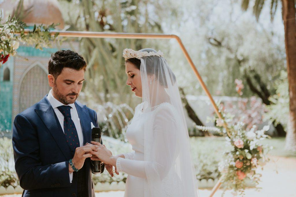 CEREMONIA221de270 - The Romantic Wedding of María and Javier
