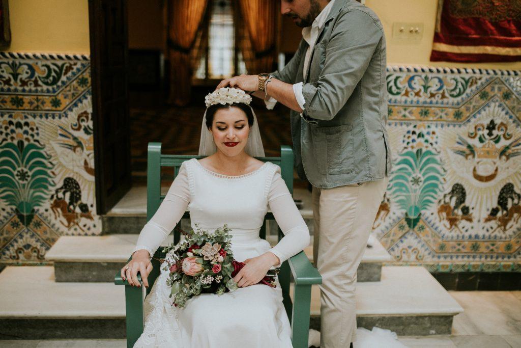PREPARATIVOS237de261 - The Romantic Wedding of María and Javier