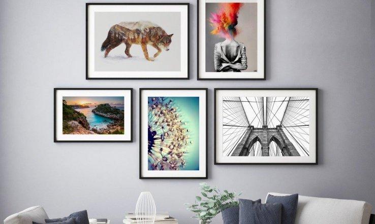 comprar cuadros online posterlounge - Cómo he Decorado las Paredes de mi Casa con Cuadros