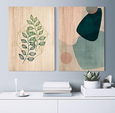 cuadros de madera para salon - Cómo he Decorado las Paredes de mi Casa con Cuadros