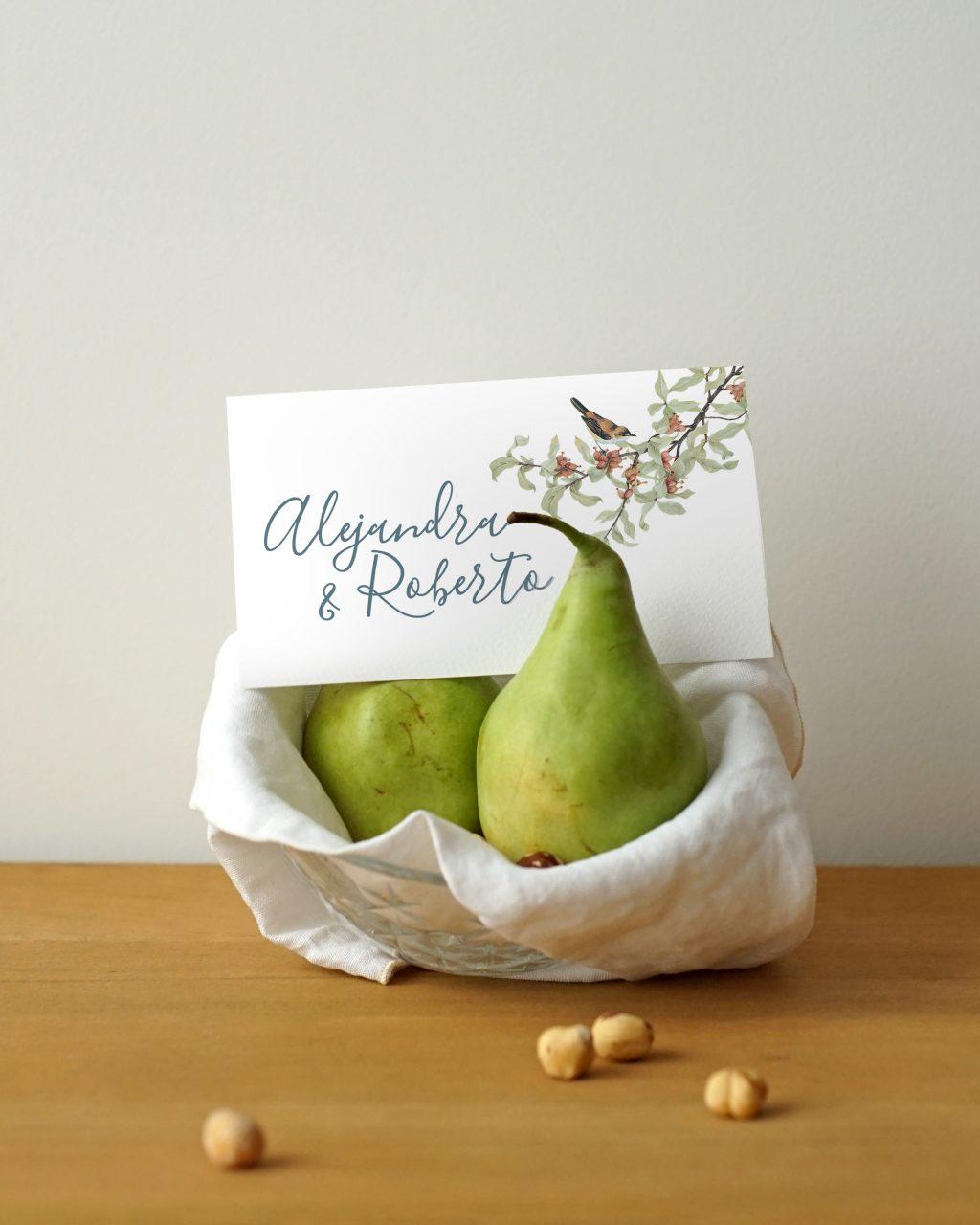 Invitaciones de boda Something Cute 8 - Invitaciones Inspiradas en la Naturaleza