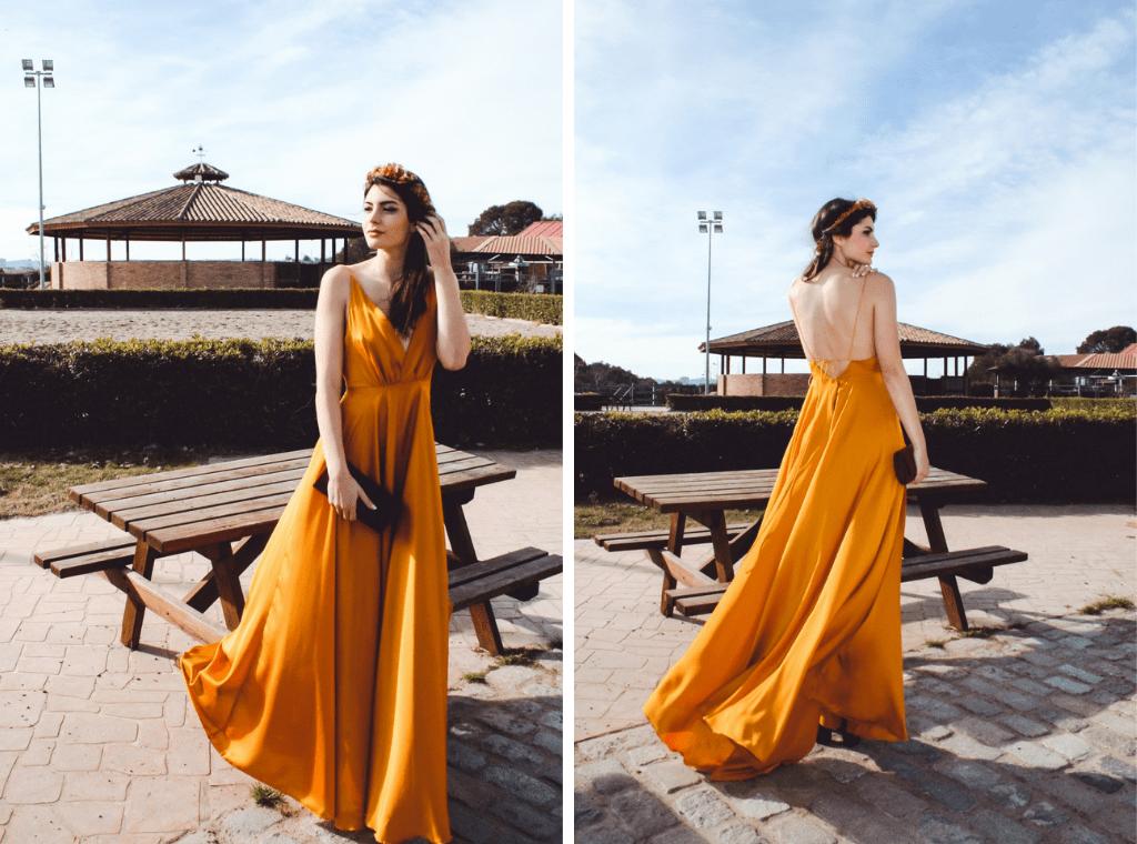 Vestidos Mabel Galindo 1 - Mabel Galindo: Invitadas con Escotes