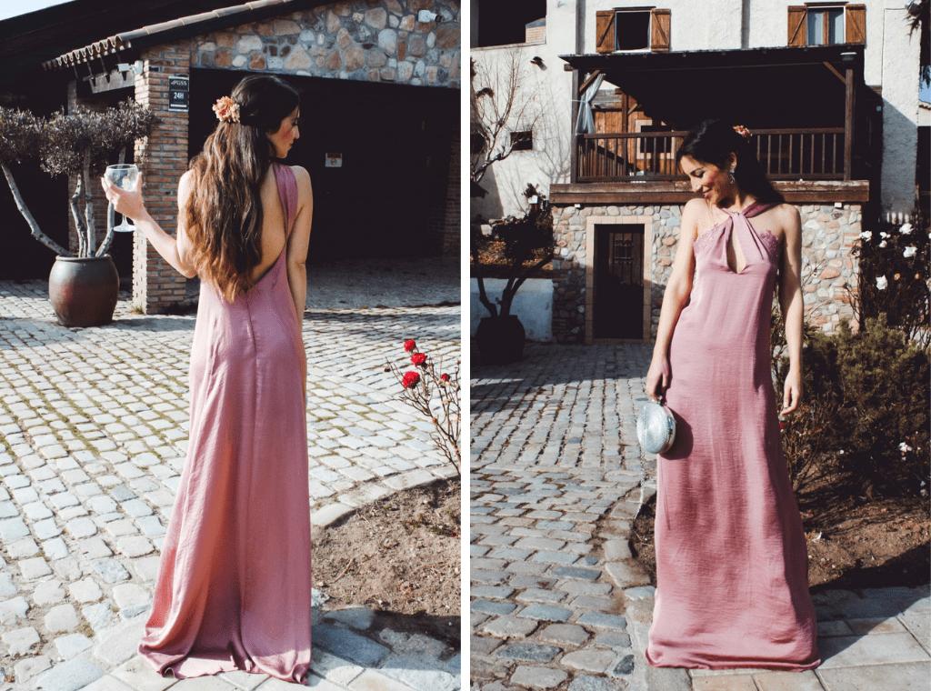 Vestidos Mabel Galindo 2 - Mabel Galindo: Invitadas con Escotes