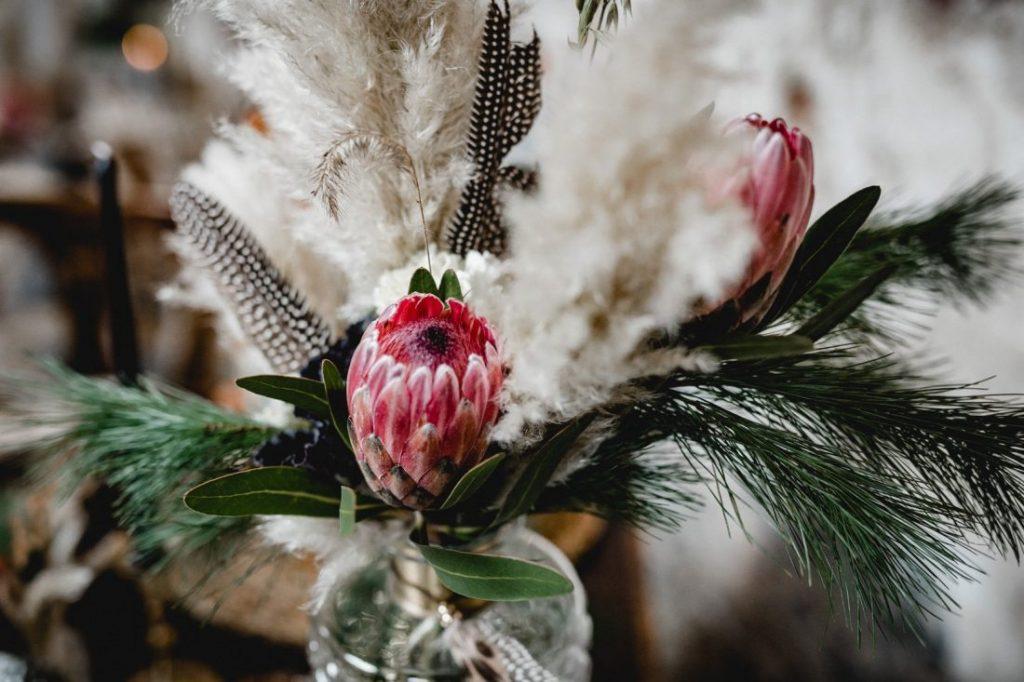 centro de mesa boda bohemia - Ideas para la Decoración de Bodas Bohemias