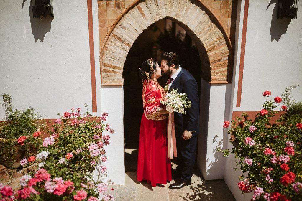 boda bilingüe de gemma y samuel