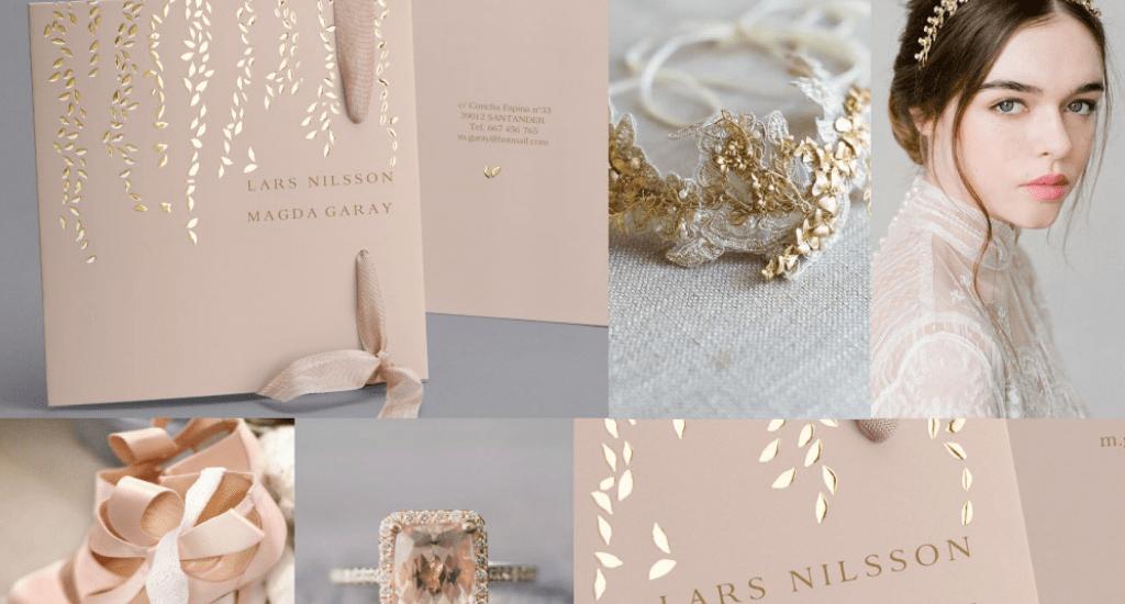 Invitaciones de boda de Cottonbird - Las Invitaciones de Boda de Cottonbird: Elegancía y Delicadeza
