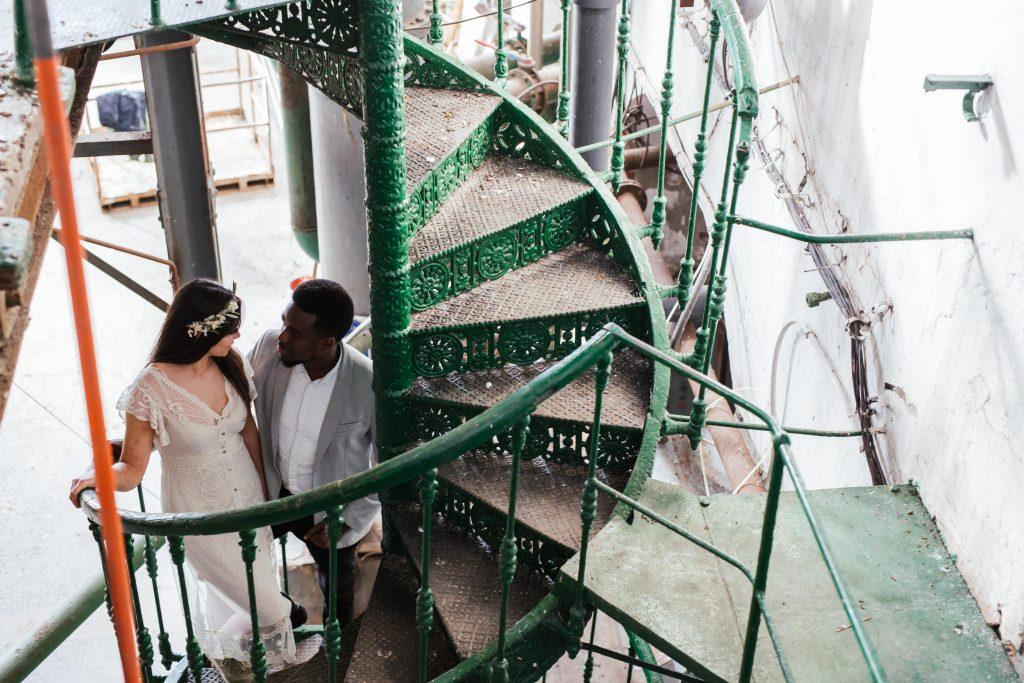 Inspiración para boda industrial editorial 3 - Inspiración para una Boda Industrial y Boho