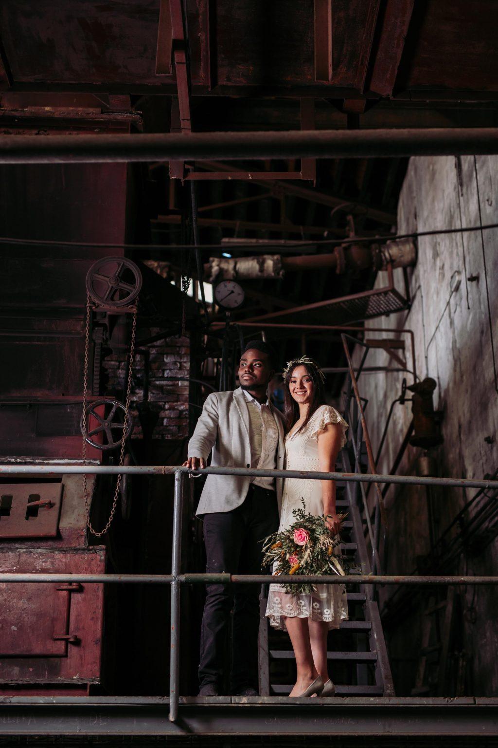 Inspiración para boda industrial editorial 7 - Inspiración para una Boda Industrial y Boho