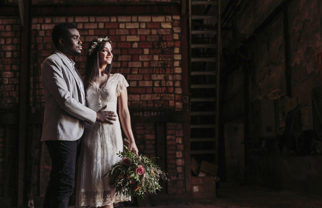 Inspiración para boda industrial editorial 9 - Inspiración para una Boda Industrial y Boho