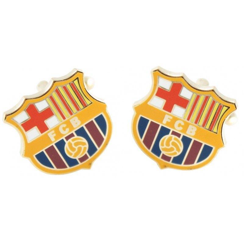 gemelos personalizados escudo barcelona futbol club - 4 Detalles de Boda para Sorprender