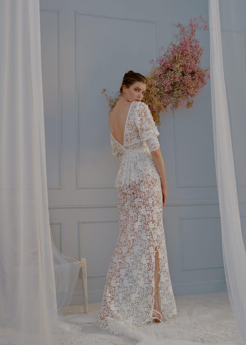 ANGELA PEDREGAL INNUBIBUS NOVIAS 2021 28 - In Nubibus, la Nueva Colección de Vestidos de Ángela Pedregal