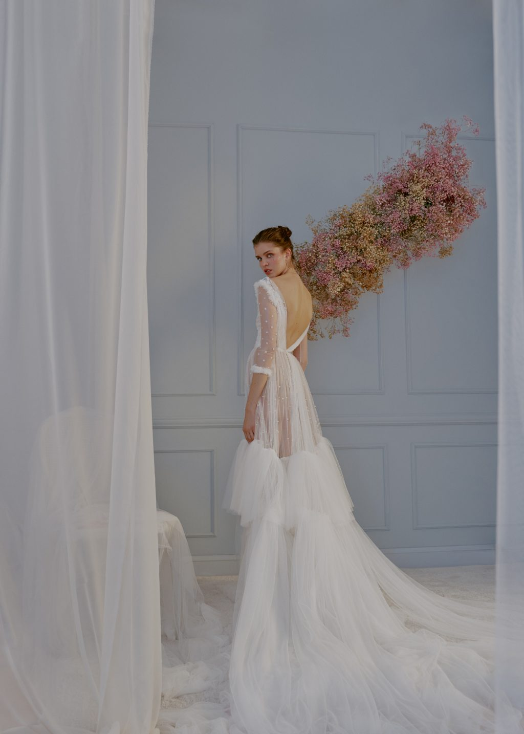 ANGELA PEDREGAL INNUBIBUS NOVIAS 2021 34 - In Nubibus, la Nueva Colección de Vestidos de Ángela Pedregal