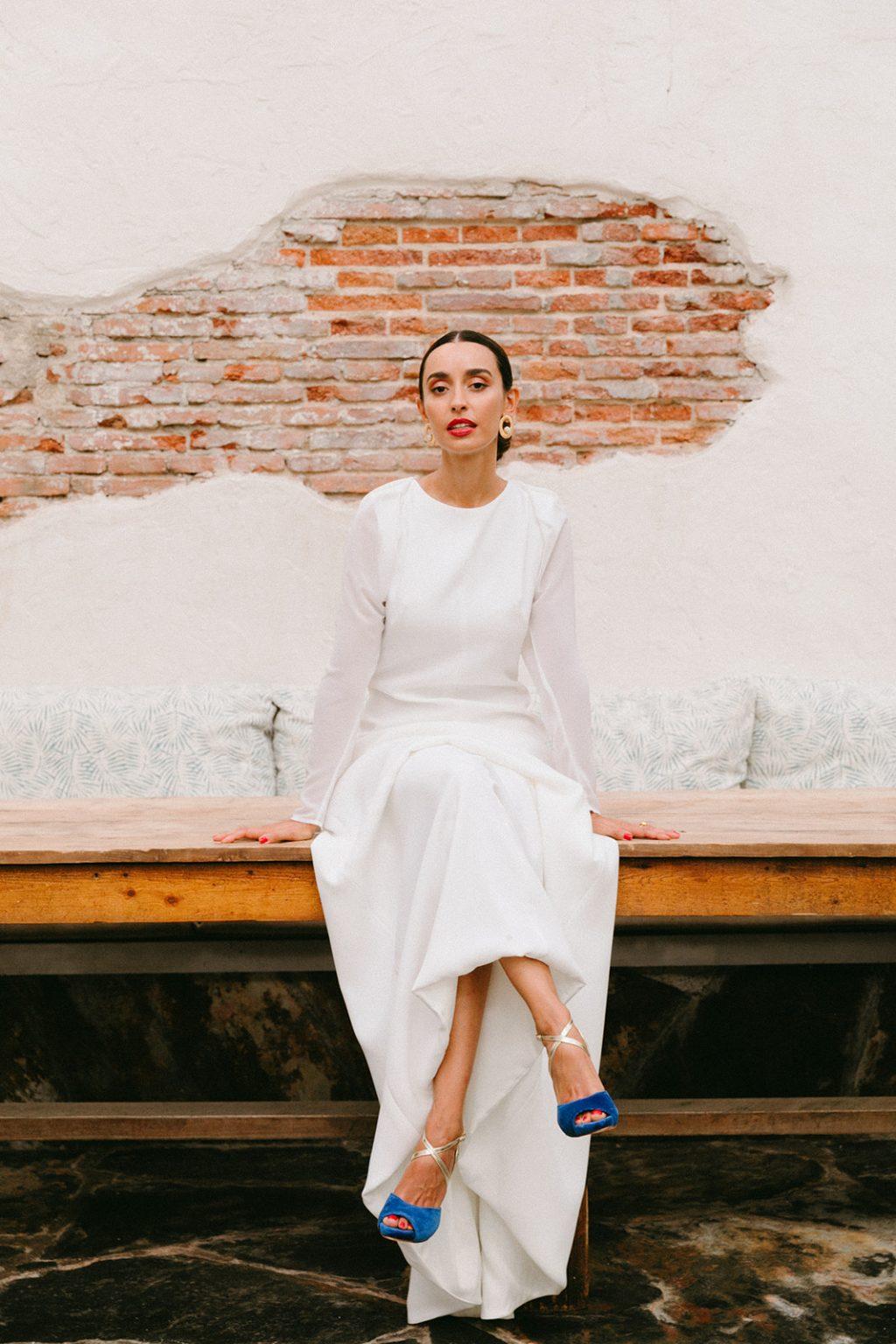 """Vestidos de novia 2020 minimal Cuba Libre de Lamarye 103 - """"Cuba Linda"""" Los Vestidos de Novia Minimal"""