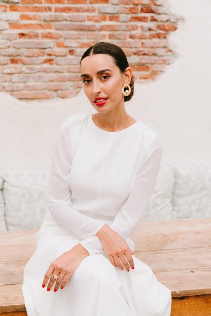 """Vestidos de novia 2020 minimal Cuba Libre de Lamarye 105 - """"Cuba Linda"""" Los Vestidos de Novia Minimal"""