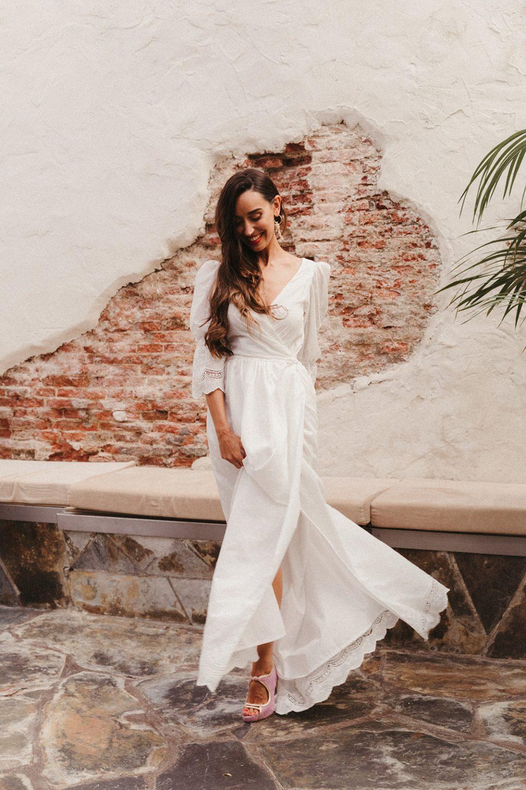 """Vestidos de novia 2020 minimal Cuba Libre de Lamarye 41 - """"Cuba Linda"""" Los Vestidos de Novia Minimal"""