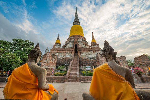 Wat Yai Chai Mongkol Ayutthaya Thailand - Organiza tu Viaje a Tailandia con esta Guía: Qué Ver, Qué Hacer y Qué Comer