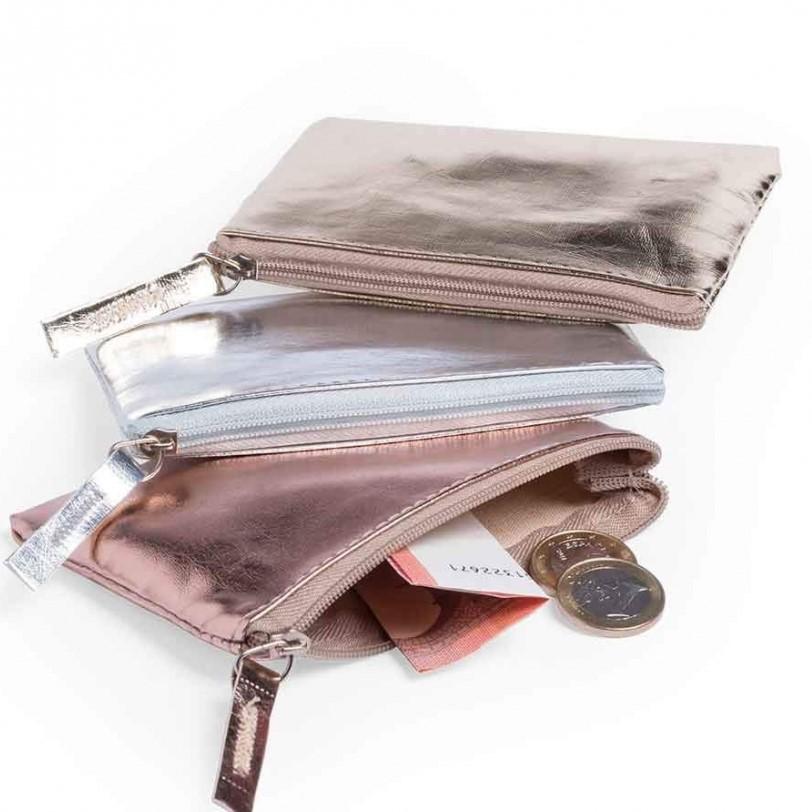 lote de 24 monederos metalizados - Ideas para los Detalles de Boda para Mujeres