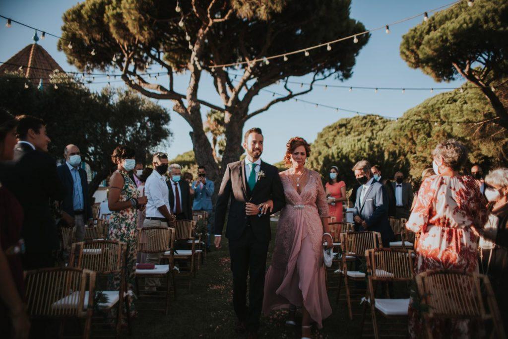 Bodacovid en la playa Huelva 3 - Conso y Justo se Casaron en Plena Pandemia