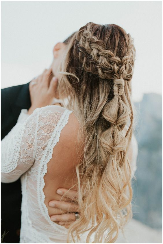 Peinados para bodas 2021 3 - Los Peinados de Novia más de Moda de este Año