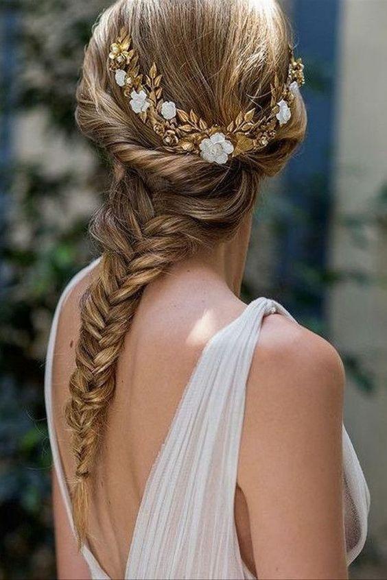 Peinados para bodas 2021 4 - Los Peinados de Novia más de Moda de este Año