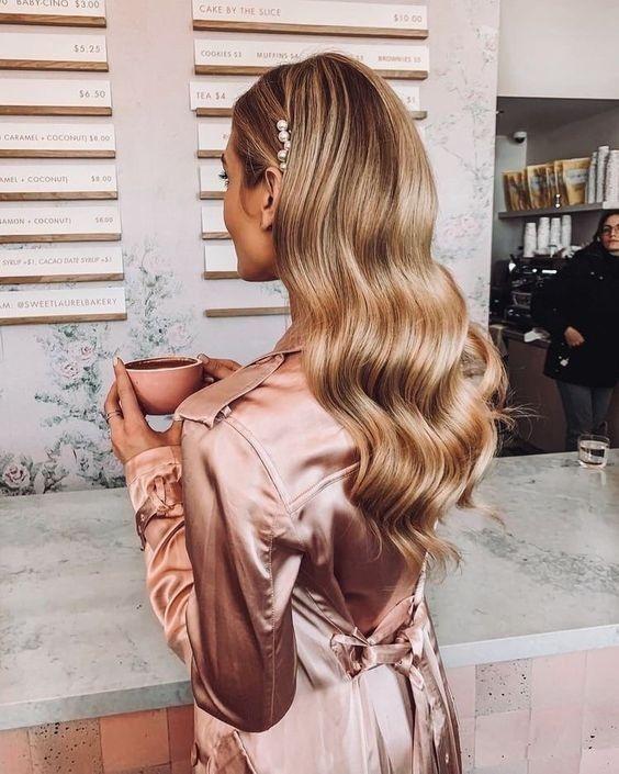 Peinados para bodas pelo suelto 4 - Los Peinados de Novia más de Moda de este Año