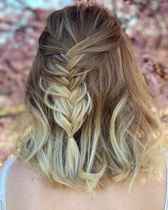 peinados para bodas semirecogidos 5 - Los Peinados de Novia más de Moda de este Año