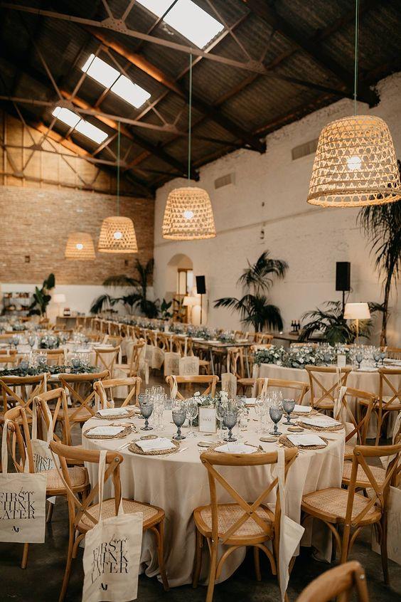 boda con decoracion minimal - Ideas para una Decoración de una Boda Minimalista
