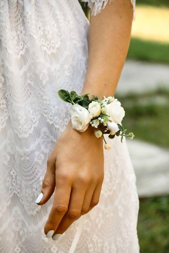 inspiración corsages para bodas diy novias