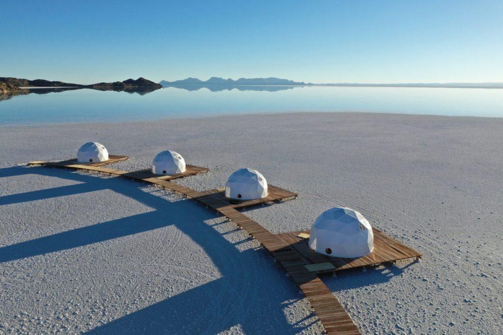 Luna de miel de aventura en Salar de Uyuni en Bolivia